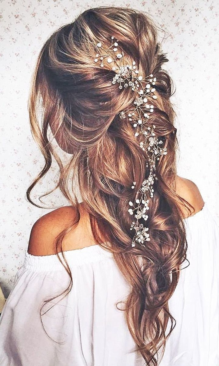 Most Recent Fabulous Bridal Pony Hairstyles In Boho Pins: Top 10 Pins Of The Week From Pinterest – Boho Bridal Hair (View 3 of 20)