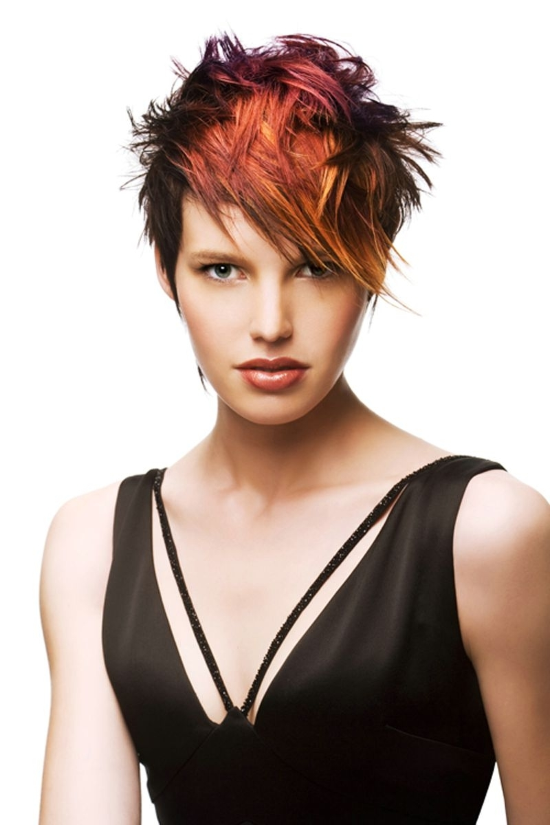 Most Recent Messy Tapered Pixie Hairstyles Intended For 19 Chic Short (And 'messy') Hairstyles (View 12 of 20)