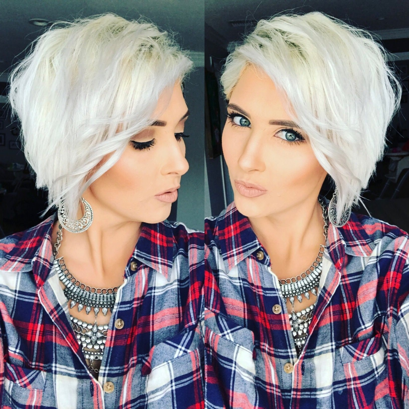 Most Recent Platinum Pixie Hairstyles Regarding Platinum Pixie Hair Cut Ice White Pixie Hair Long Pixie Blonde Pixie (Gallery 4 of 20)