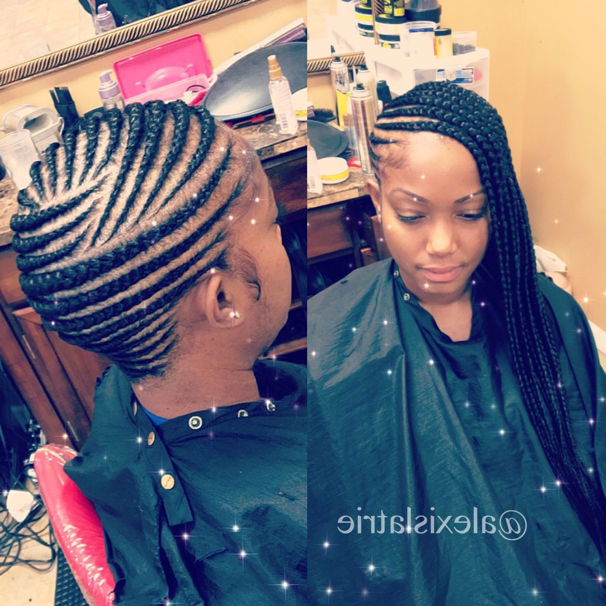 Most Recent Ponytail And Lacy Braid Hairstyles Inside Lemonade Braids #feedinbraids #feedinponytail #ponytail (View 20 of 20)