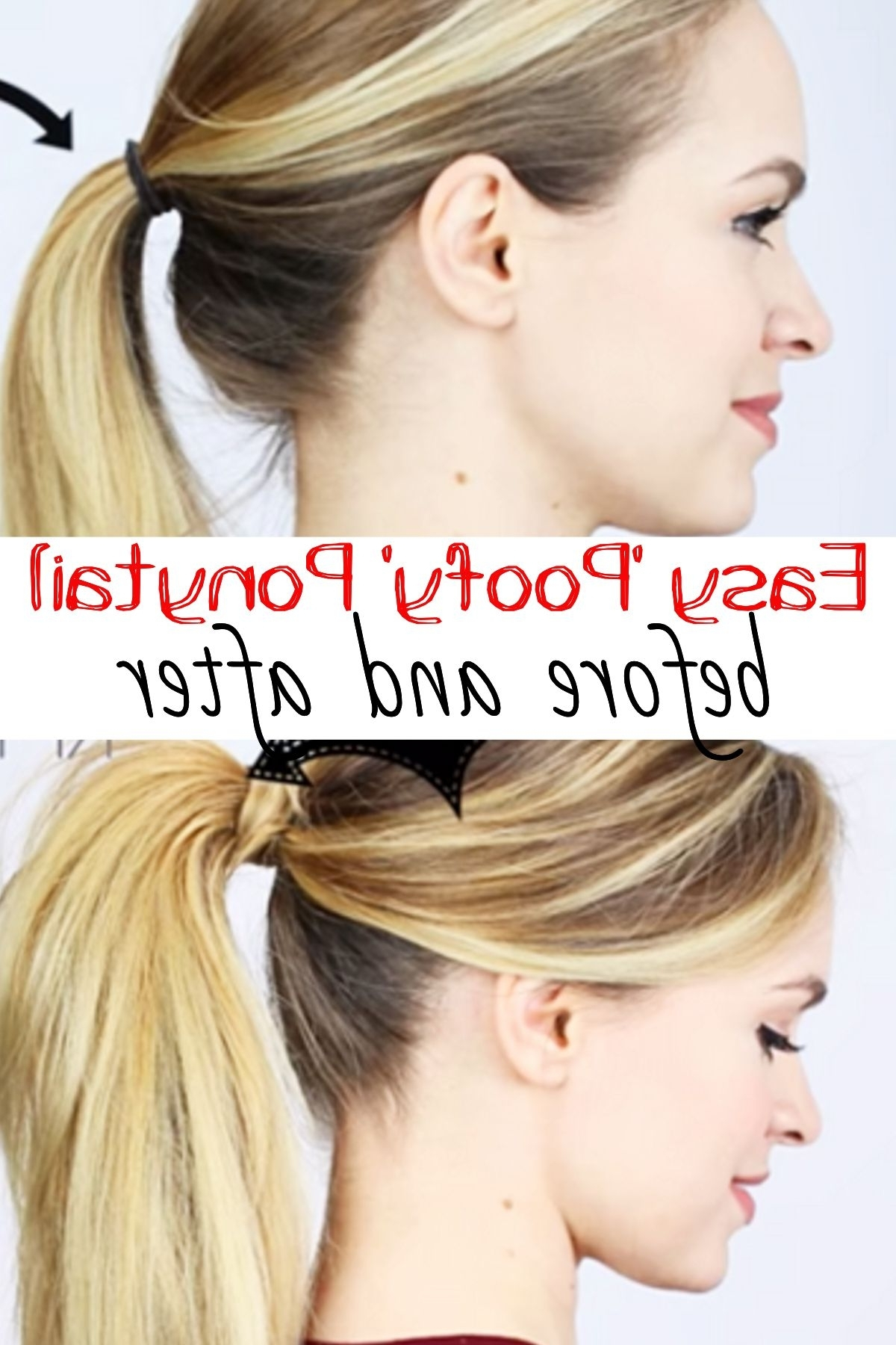 Most Recent Poofy Ponytail Hairstyles With Bump Within Tip: A Better And Sassier Ponytail In Less Than 5 Minutes (View 4 of 20)