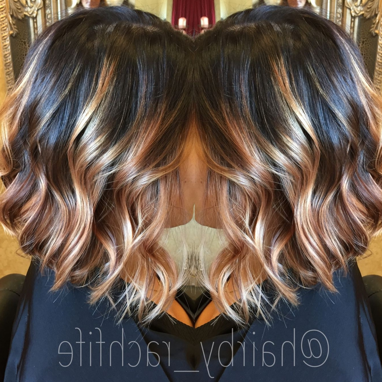 Most Recent Rooty Long Bob Blonde Hairstyles Regarding Best Dark Stretched Root With Blonde Balayage A Long Bob Haircut (View 13 of 20)