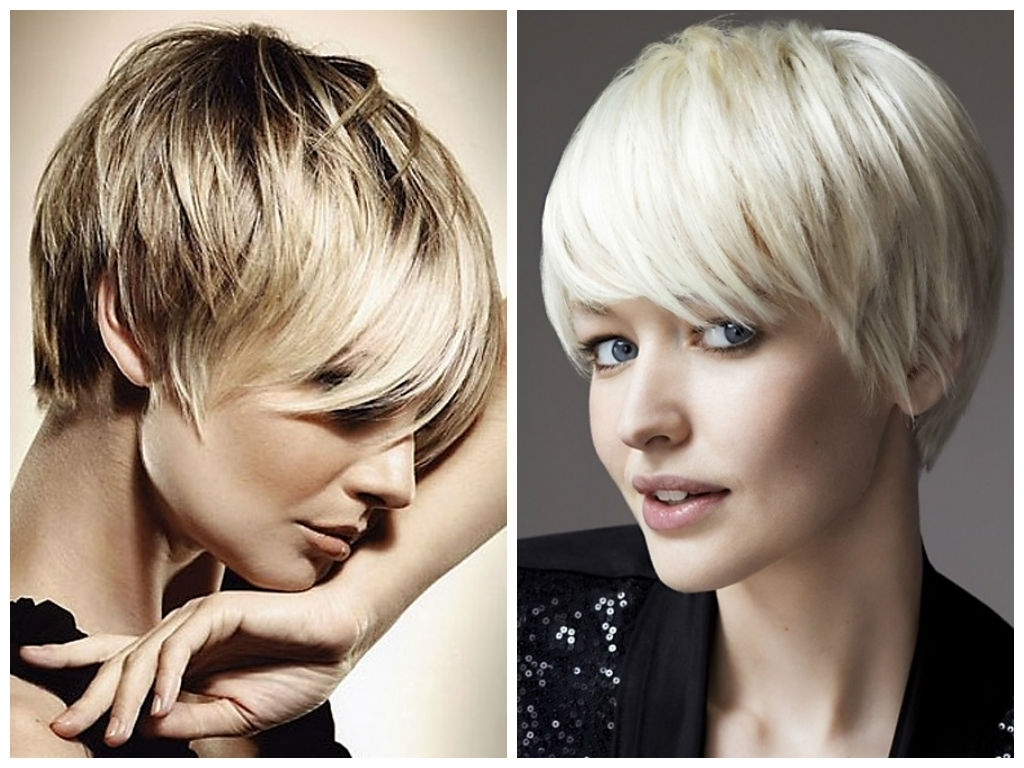 Most Recent Stacked Pixie Bob Hairstyles With Long Bangs With Long Pixie That Covers Ears (View 12 of 20)