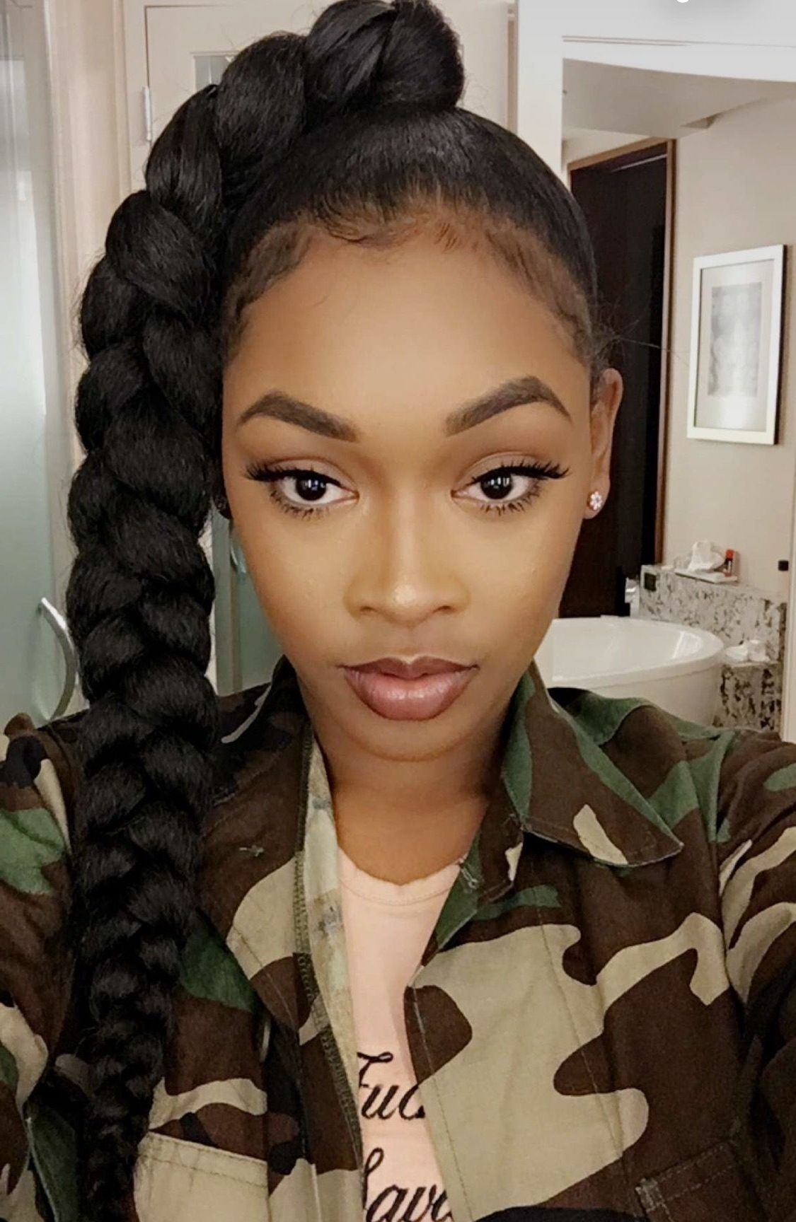 Most Recent Stylish Supersized Ponytail Hairstyles In Princess Crown Braid: One Of The Best Updated Version For Teenage (View 13 of 20)
