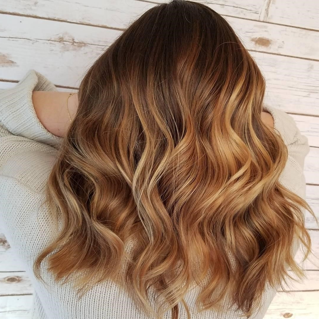 Most Recent Sun Kissed Blonde Hairstyles With Sweeping Layers Within Balayage, Ombre, Sombre: Your Guide To Sun Kissed Hair Color (View 9 of 20)