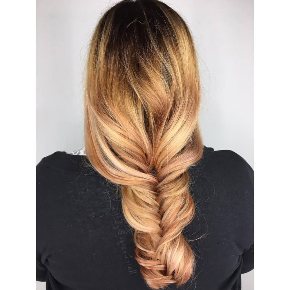 Most Recently Released Brown Sugar Blonde Hairstyles Intended For 38 Top Blonde Highlights Of 2018 – Platinum, Ash, Dirty, Honey & Dark (View 15 of 20)