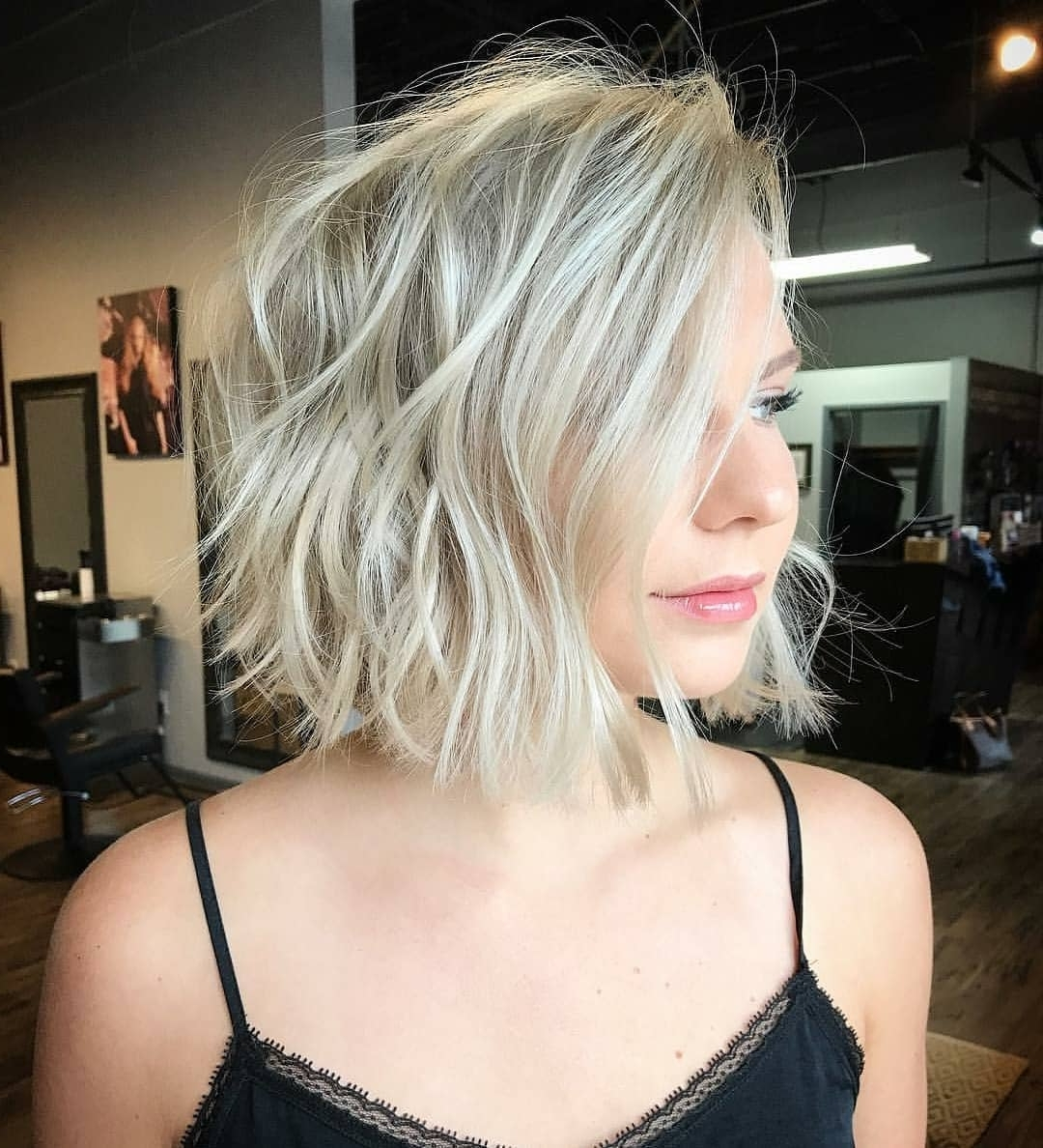 Most Recently Released Casual And Classic Blonde Hairstyles Intended For 10 Medium Bob Haircut Ideas, Casual Short Hairstyles For Women  (View 16 of 20)