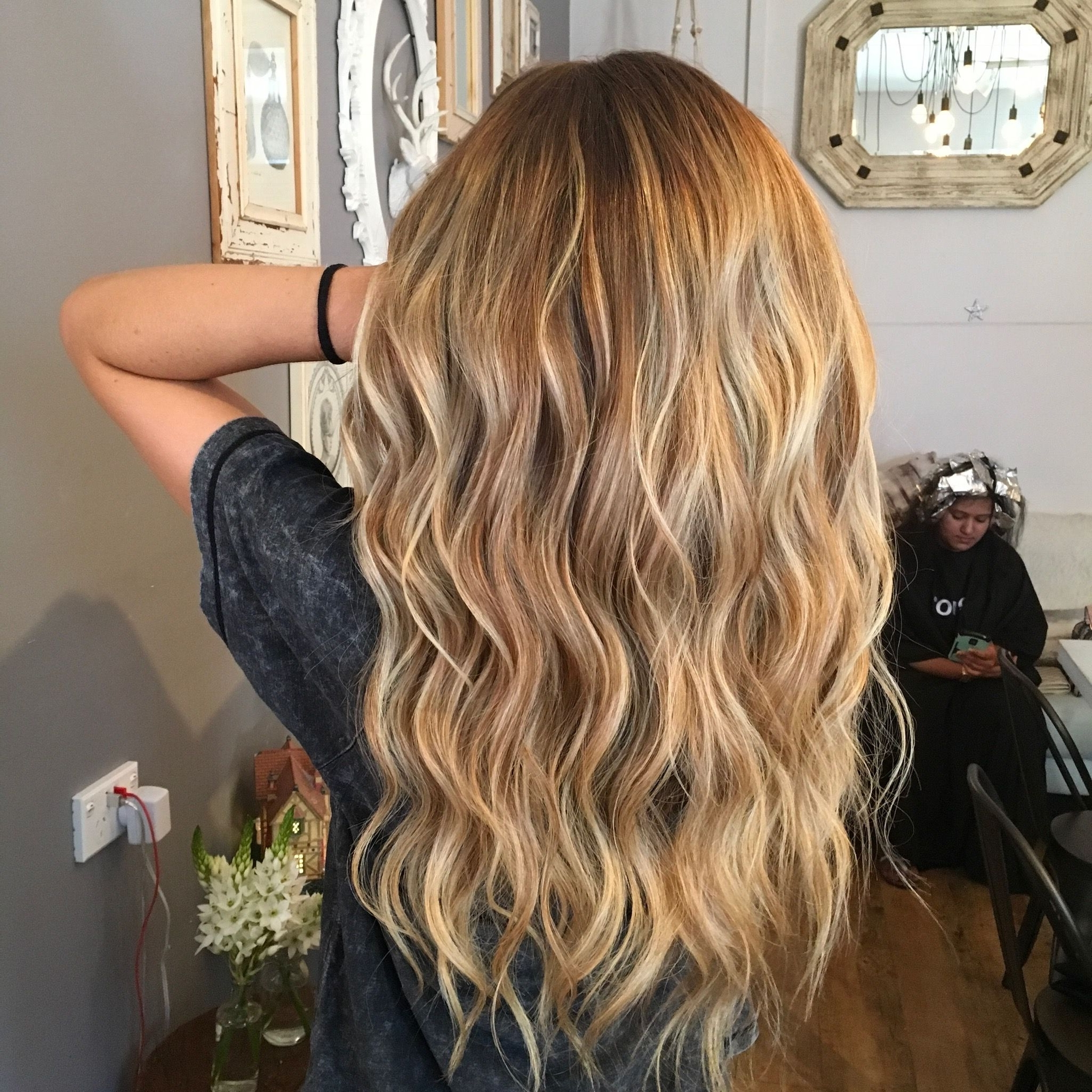 Most Recently Released Creamy Blonde Waves With Bangs Within Blonde Blondes Bright Blondes Creamy Blondes Waves Style Ashy (View 8 of 20)