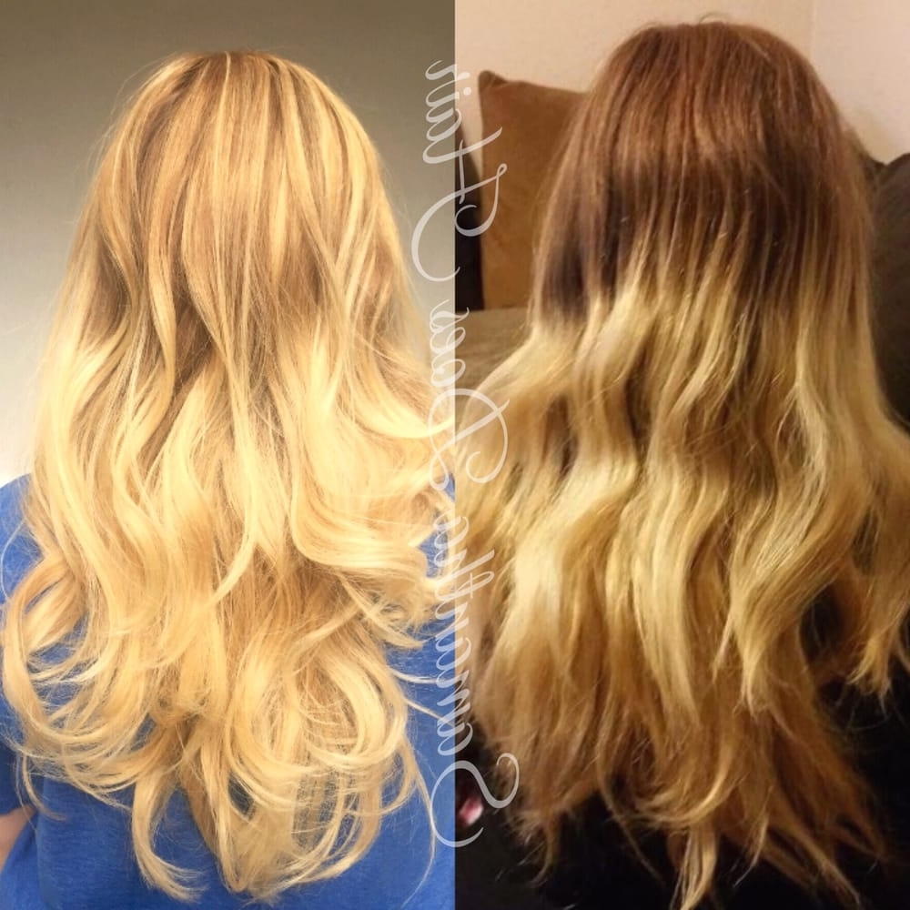 Most Recently Released Grown Out Balayage Blonde Hairstyles With From Outgrown Blonde To A Natural Balayage Highlight For Soft, Low (View 11 of 20)