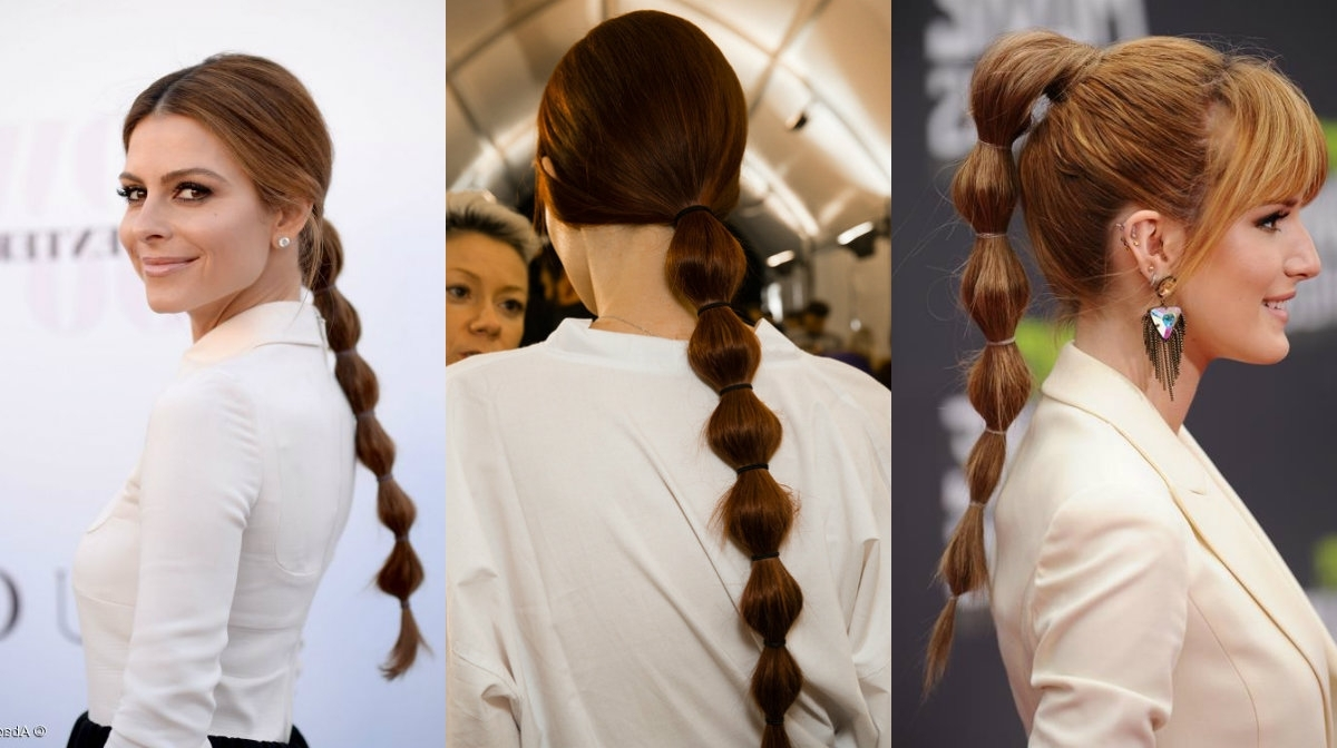 Most Recently Released High Bubble Ponytail Hairstyles Pertaining To Office Ponytails For 2016 Fall Business Style Looks (View 13 of 20)