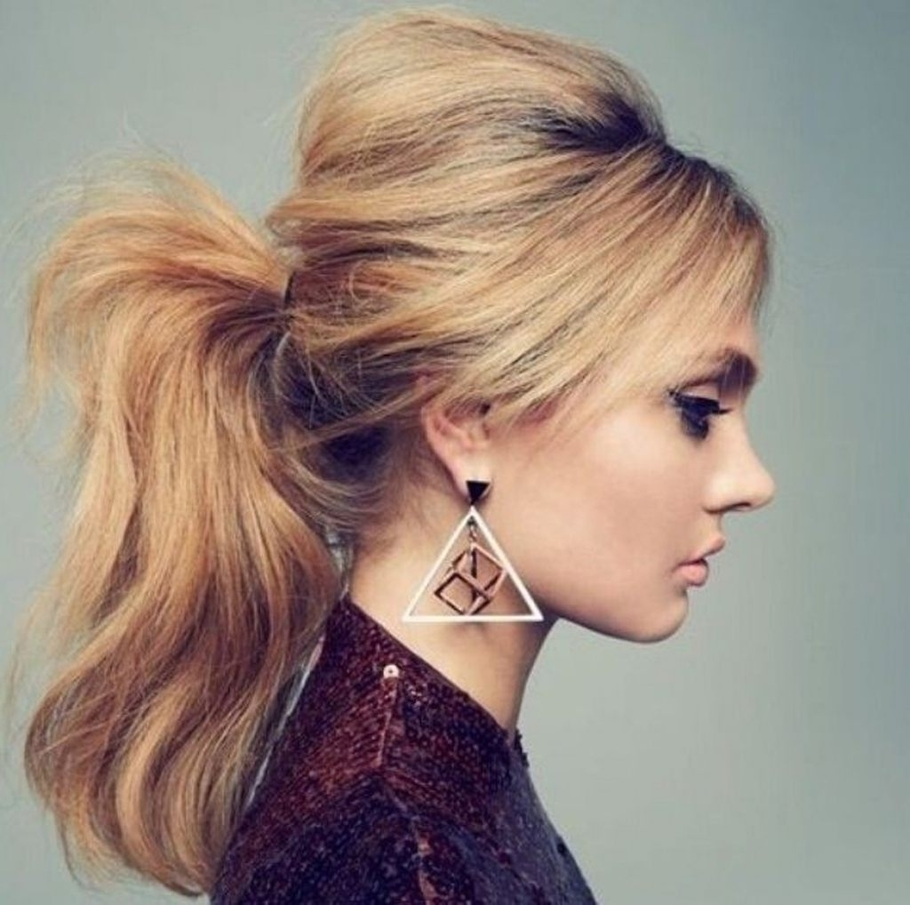 Most Recently Released Ponytail Hairstyles With Bump Regarding High Ponytail Hairstyles Bump (View 14 of 20)