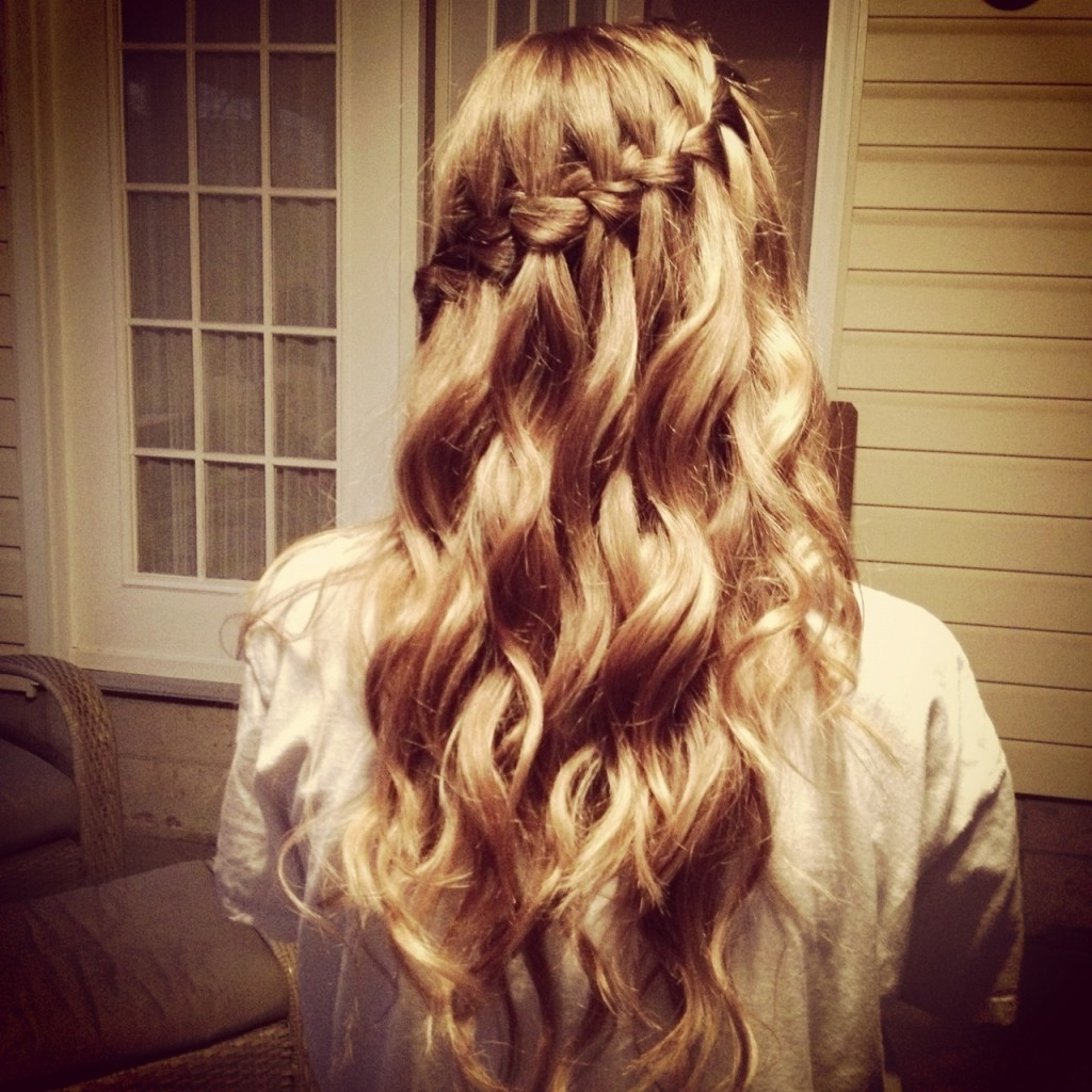 Most Recently Released Side Braid Hairstyles For Curly Ponytail Inside Party Hairstyles For Curly Hair – Hair World Magazine (View 18 of 20)