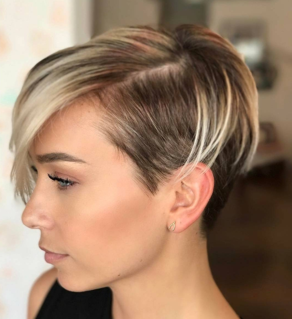 Most Recently Released Uneven Undercut Pixie Hairstyles Inside 30 Perfect Pixie Haircuts For Chic Short Haired Women (View 15 of 20)