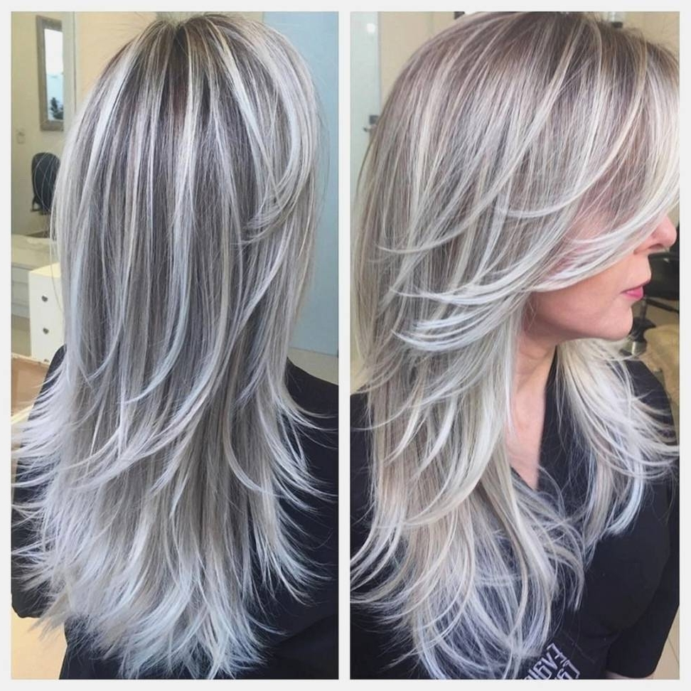 Most Up To Date Blonde Hairstyles With Platinum Babylights With Regard To Platinum Blonde Highlights On Dark Brown Hair – Amazinghairstyle (View 14 of 20)