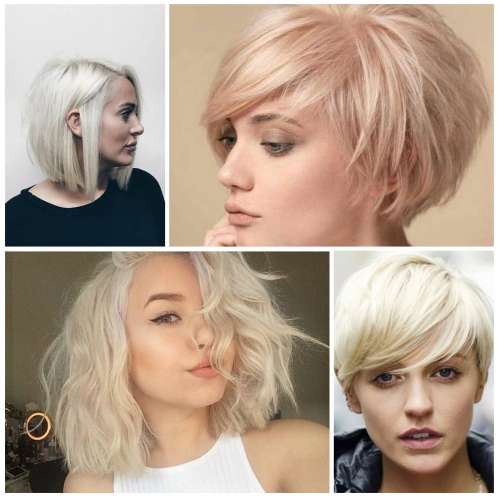 Most Up To Date Blonde Pixie Hairstyles With Short Angled Layers With Regard To Short Blonde Hairstyles, Summer 2018 – Best Short Hairstyles (View 17 of 20)