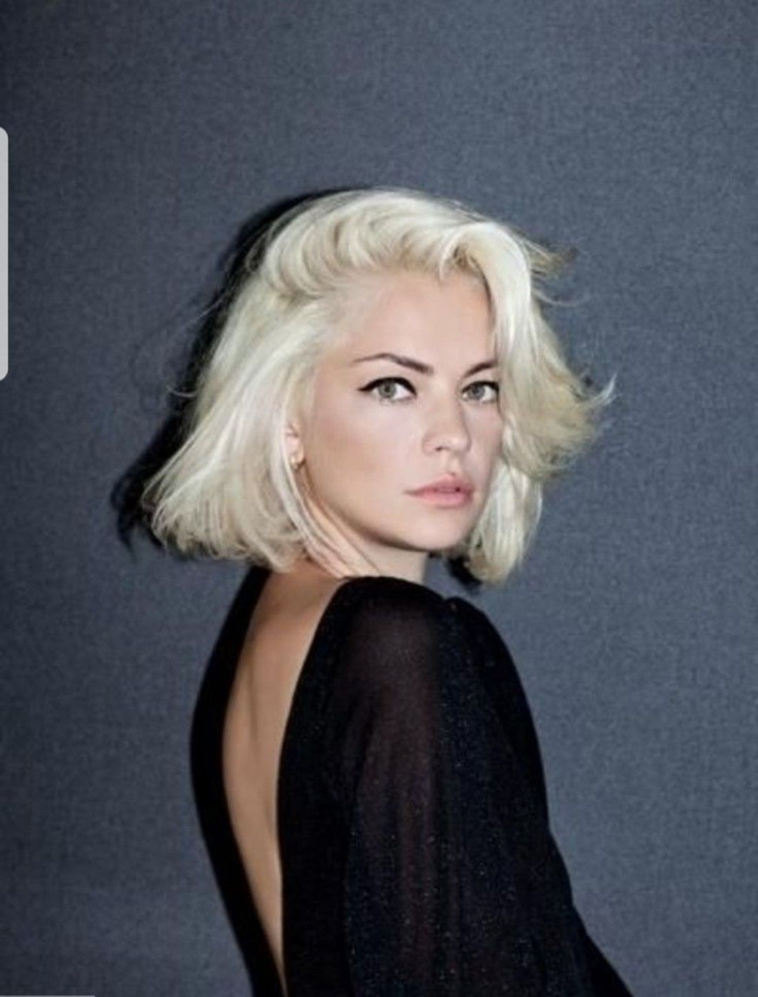Most Up To Date Bodacious Blonde Waves Blonde Hairstyles Within Funky Platinum Blonde Bob Dark Eyebrows (View 15 of 20)