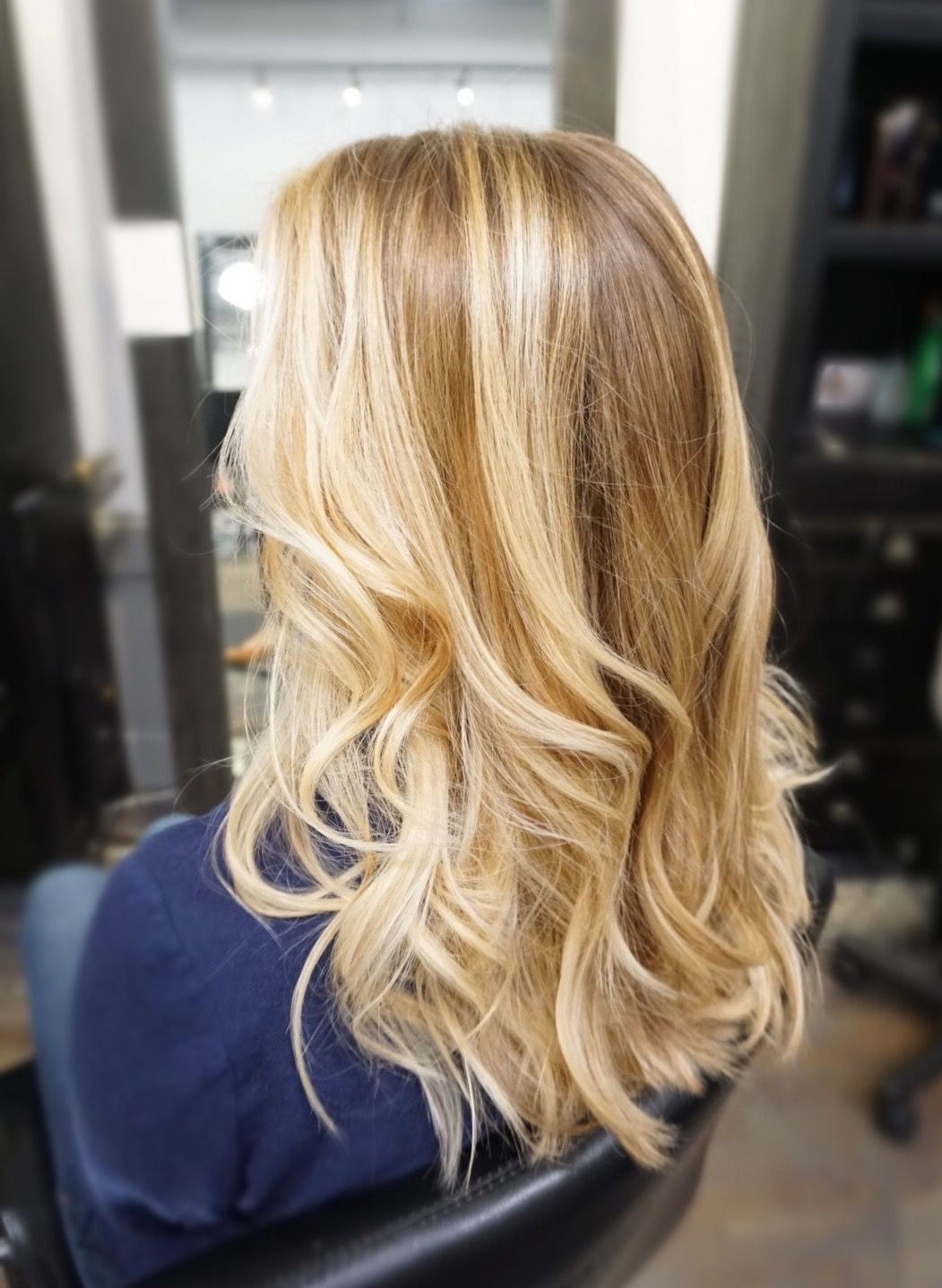 Most Up To Date Buttery Highlights Blonde Hairstyles In Honey Butter Blonde Balayage (View 12 of 20)