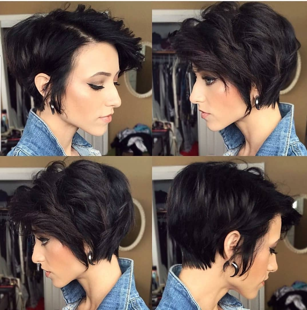 Most Up To Date Choppy Asymmetrical Black Pixie Hairstyles With Regard To 10 Beautiful Asymmetrical Short Pixie Haircuts & Hairstyles, Women (View 13 of 20)