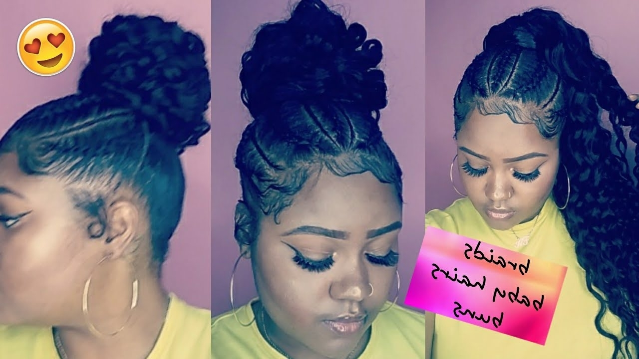 Most Up To Date Entwining Braided Ponytail Hairstyles Within Braids + Invisible Ponytail On Short Hair Ft (View 11 of 20)
