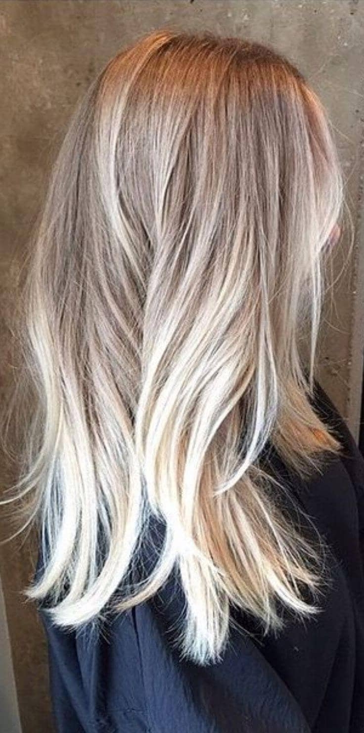 Most Up To Date Grown Out Platinum Ombre Blonde Hairstyles Intended For 50 Proofs That Anyone Can Pull Off The Blond Ombre Hairstyle (View 13 of 20)