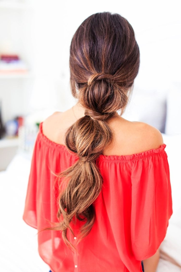 Most Up To Date Low Twisted Pony Hairstyles For Ombre Hair Throughout 3 Lazy Hairstyles For Lazy Days — Luxy Hair Blog – All About Hair (View 16 of 20)