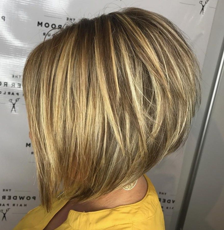 Most Up To Date Voluminous Stacked Cut Blonde Hairstyles For 70 Cute And Easy To Style Short Layered Hairstyles (View 13 of 20)