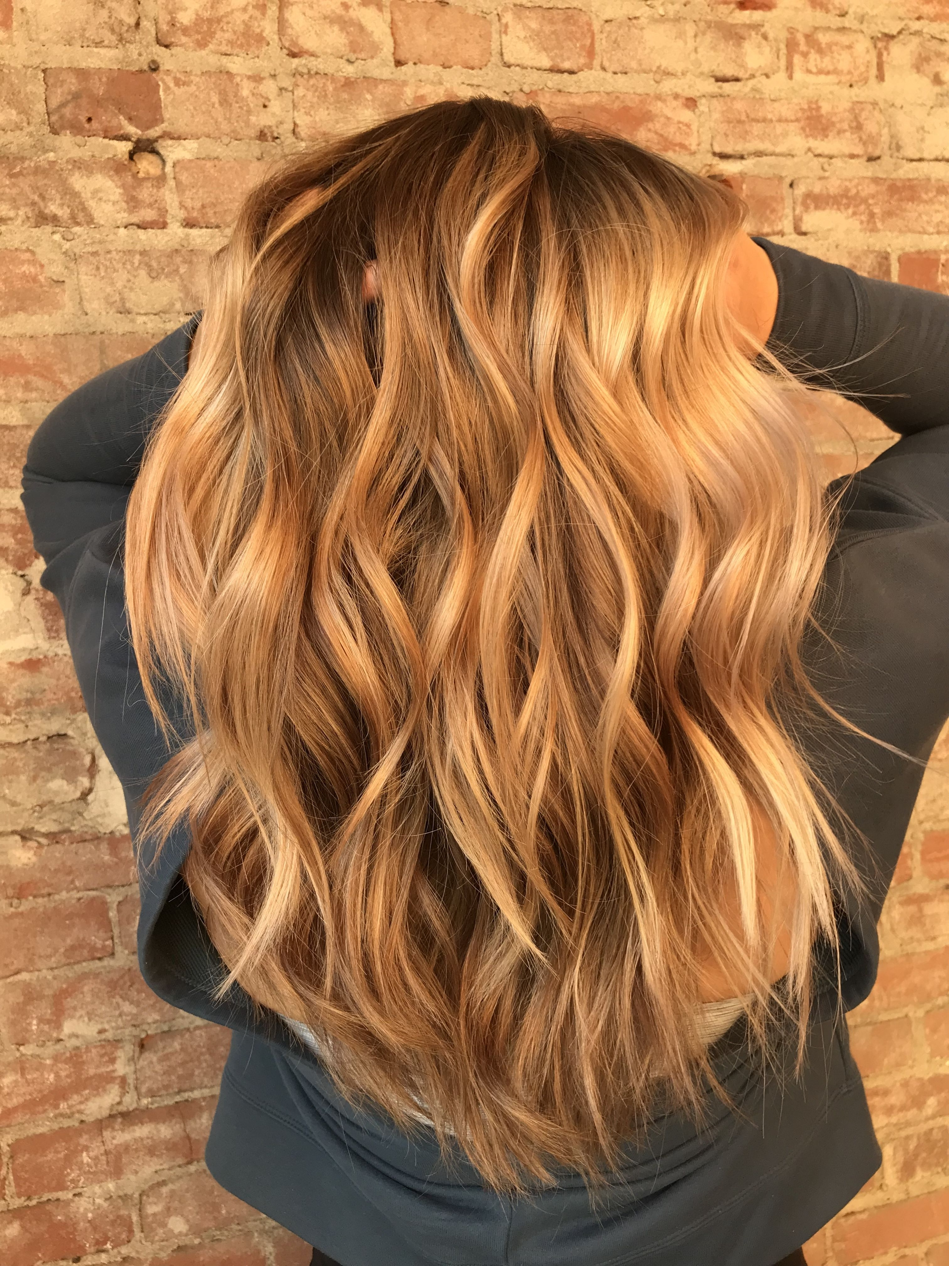 My Opinion Pertaining To Most Popular Warm Blonde Curls Blonde Hairstyles (View 13 of 20)