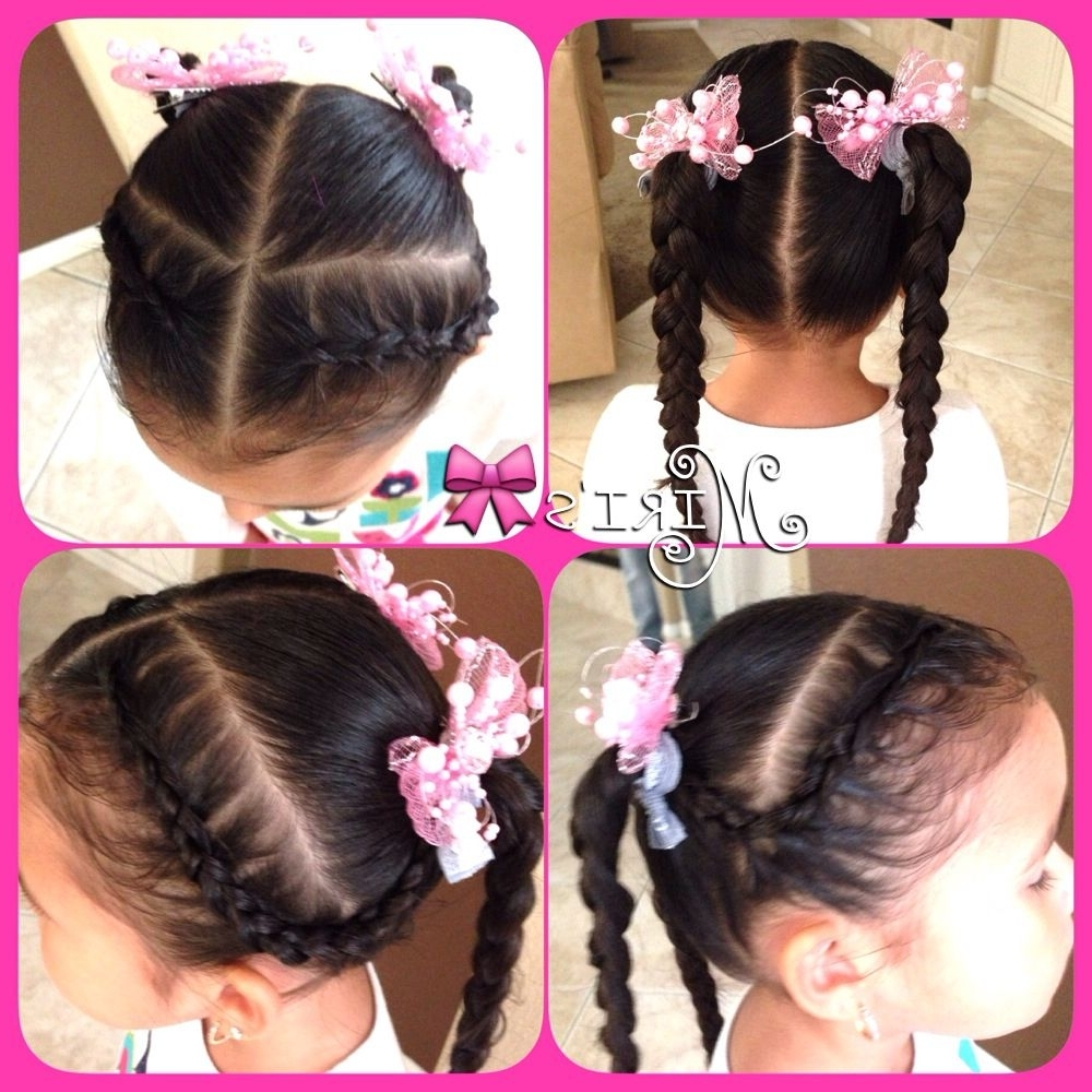 My Regarding 2017 Reverse French Braids Ponytail Hairstyles With Chocolate Coils (View 17 of 20)