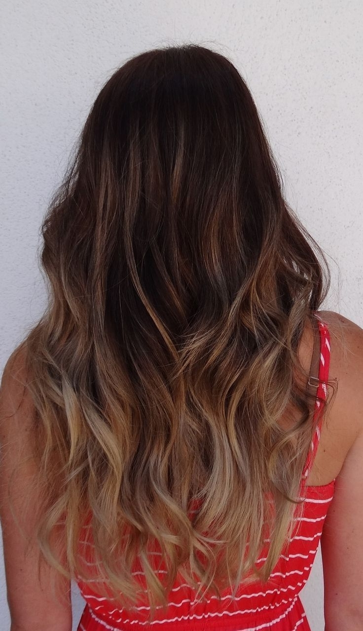 Featured Photo of Subtle Brown Blonde Ombre Hairstyles