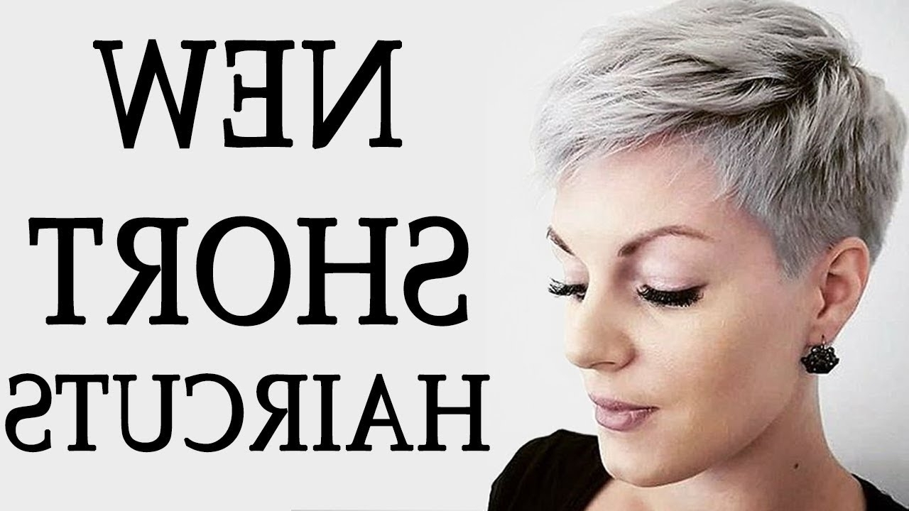 New Short Haircuts 2018 Inside Best And Newest Contemporary Pixie Hairstyles (View 19 of 20)
