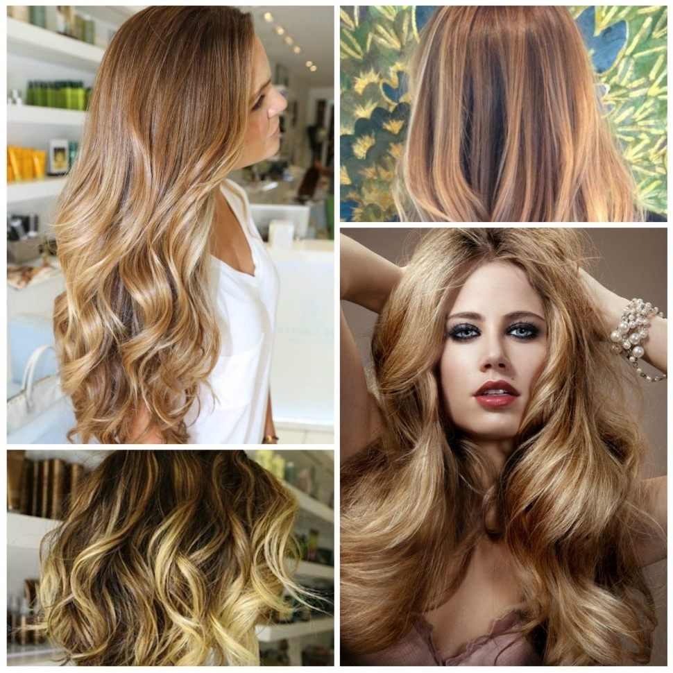 Newest Amber And Gold Blonde Hairstyles With Hair Color : Blonde Hair Colors New Color Images Honey Spring Winter (View 16 of 20)
