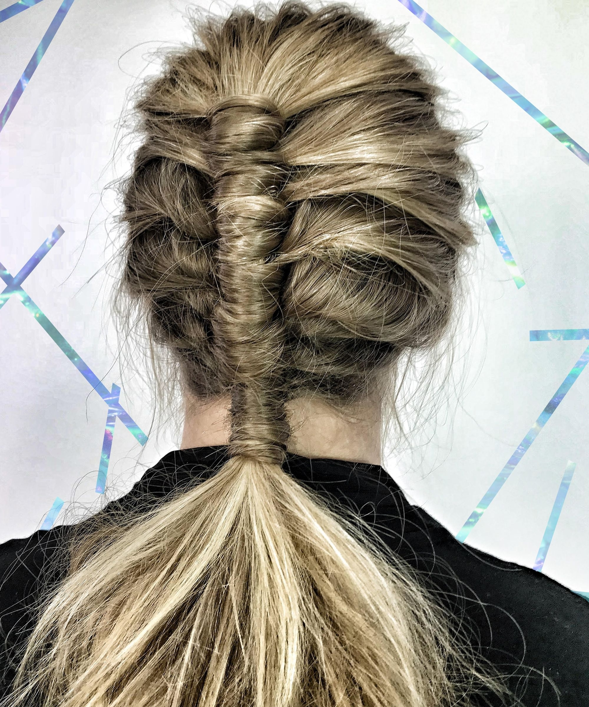 Newest Braided Millennial Pink Pony Hairstyles Throughout Festival Hair Trend Pipe Braid Technique Tutorial (View 12 of 20)