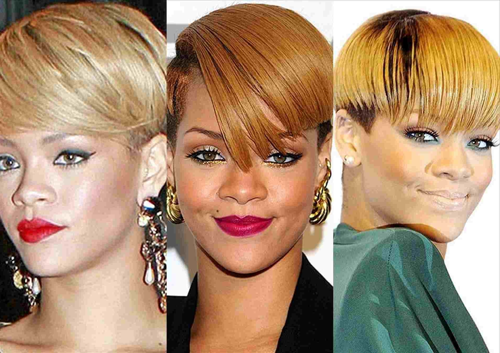 Newest Buttery Blonde Hairstyles Intended For Wcw Rihanna Blonde Hairstyles Rihanna Celebrity Hair U Makeup (View 13 of 20)