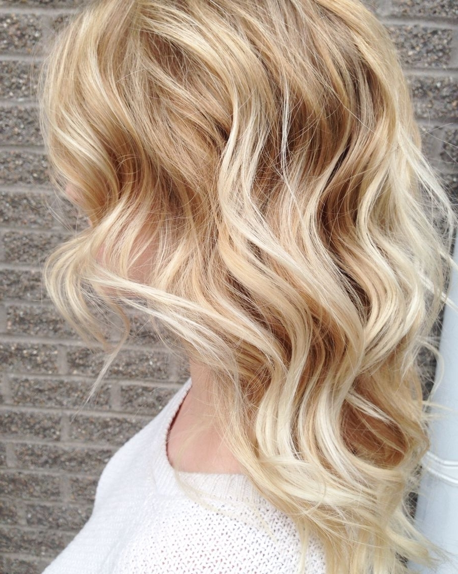 Newest Buttery Highlights Blonde Hairstyles Regarding Pintaylor Clark On Hair (View 14 of 20)
