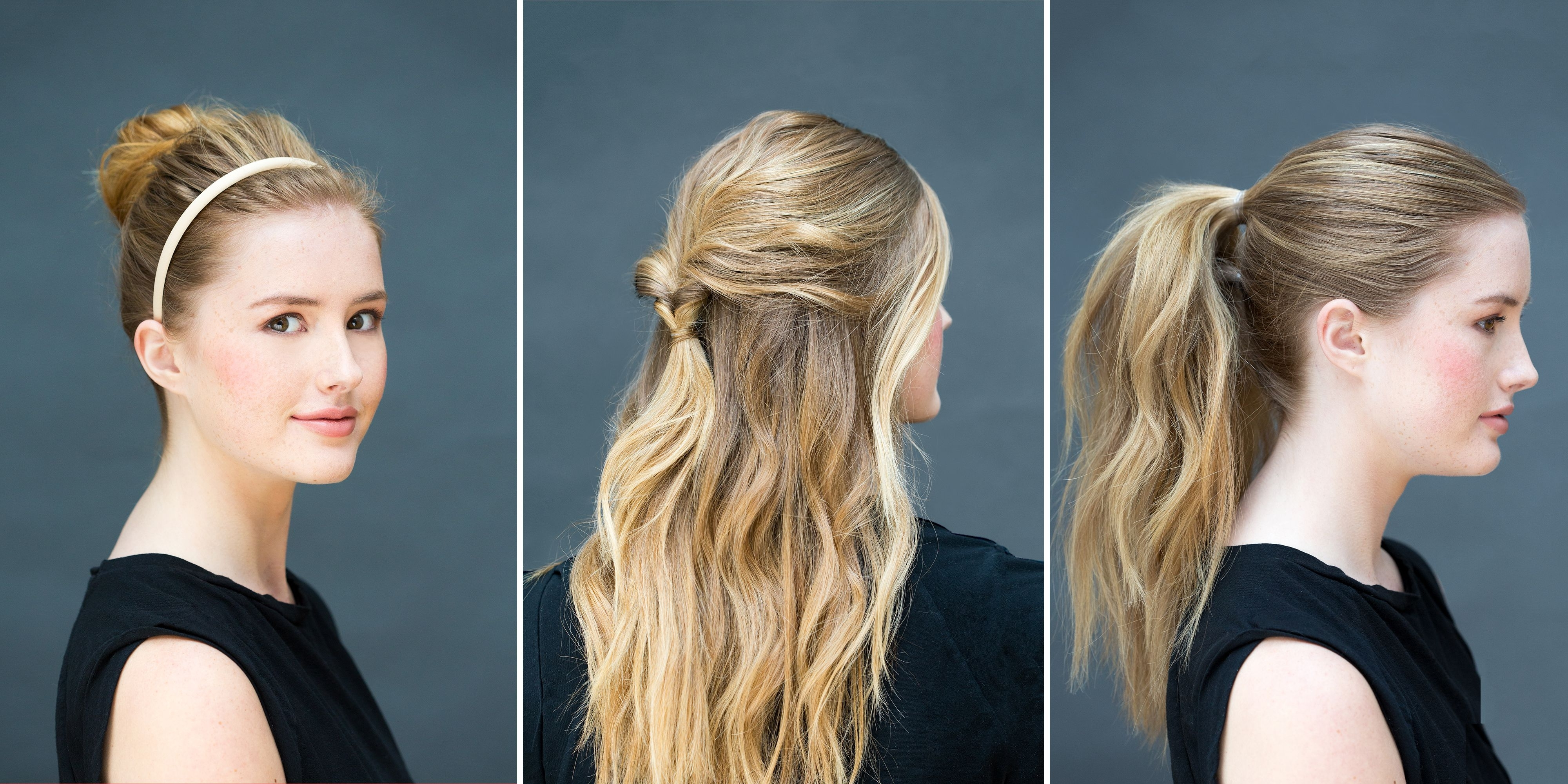 Newest Curly Pony Hairstyles For Ultra Long Hair Regarding 10 Easy Hairstyles You Can Do In 10 Seconds – Diy Hairstyles (View 16 of 20)