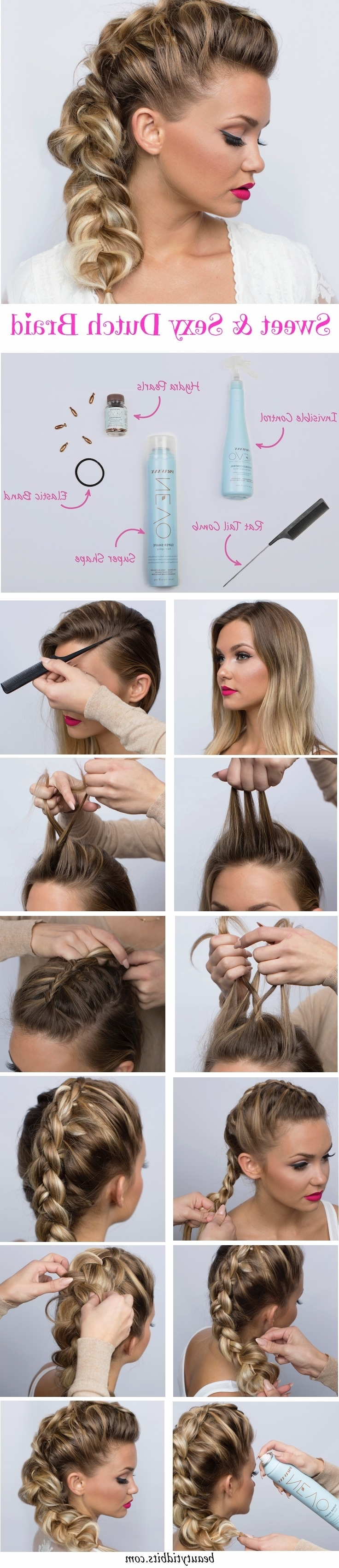 Newest Fauxhawk Ponytail Hairstyles With Regard To 28 Trendy Faux Hawk Hairstyles For Women 2018 – Pretty Designs (View 12 of 20)