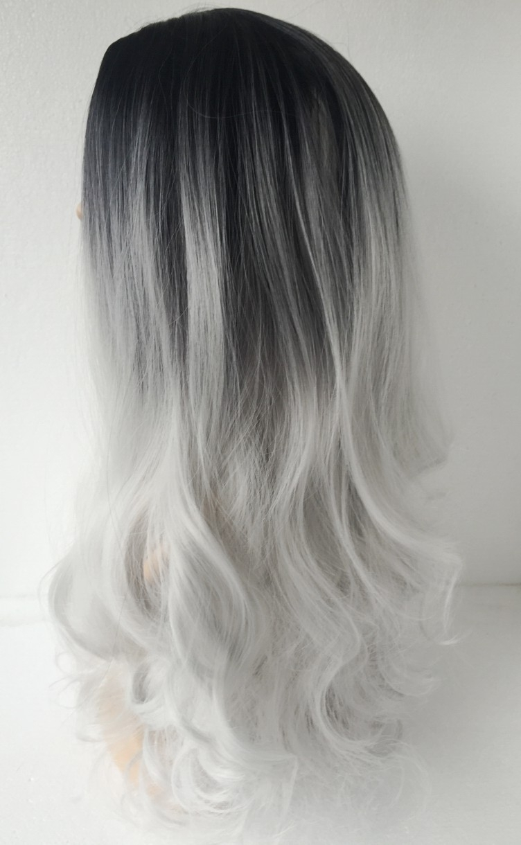 Newest Grayscale Ombre Blonde Hairstyles With Images Of Black To White Ombre Hair – #spacehero (View 16 of 20)