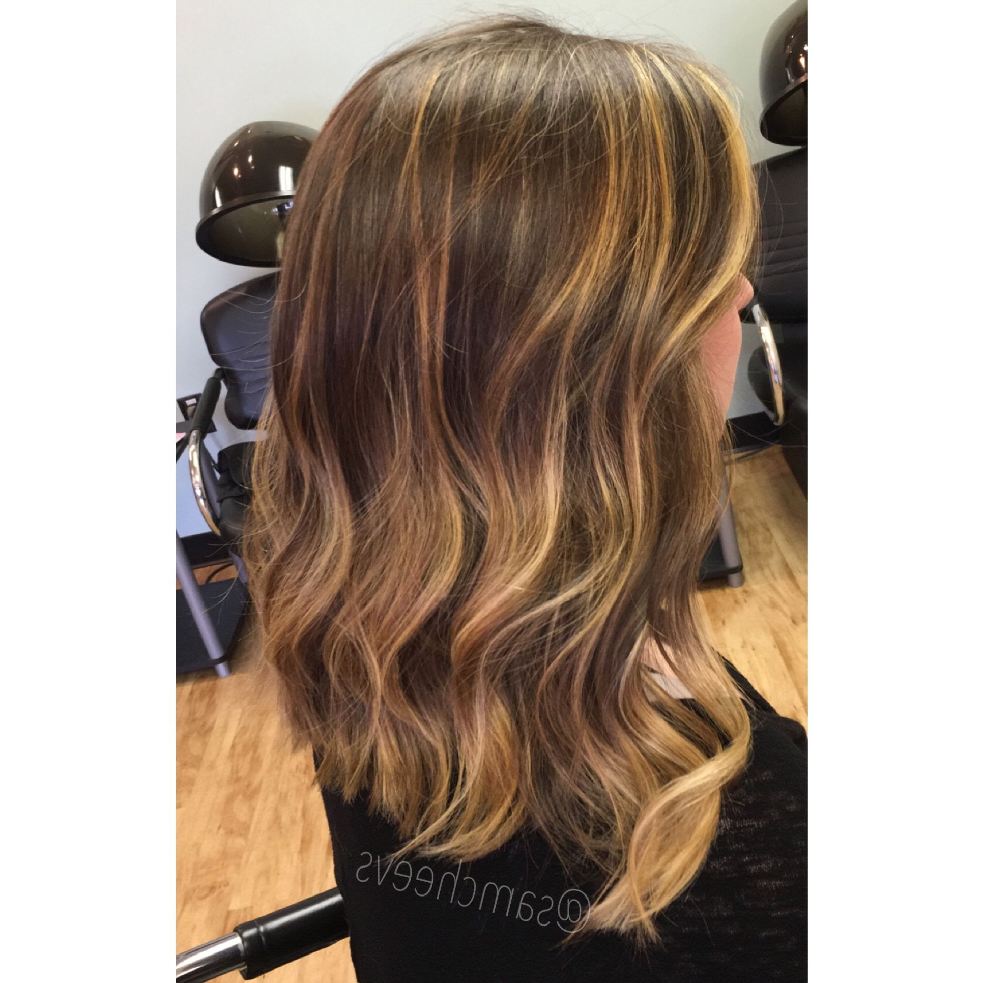 Newest Long Bob Blonde Hairstyles With Babylights Throughout Awesome Honey Blonde Highlights For Brown Hair Long Bob Cut Image (View 15 of 20)