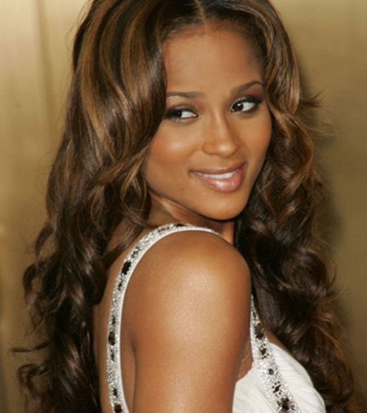 Newest Long Honey Blonde And Black Pixie Hairstyles Pertaining To Light Auburn Long Hair Colors Blonde Hair On Black Women Images (View 12 of 20)