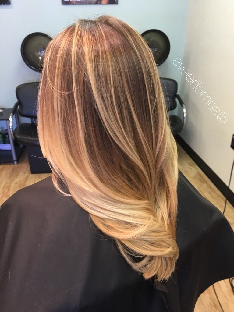 Newest Medium Honey Hued Blonde Hairstyles Intended For Honey Chestnut Platinum Warm Blonde Highlights For Dirty Blonde Thin (View 14 of 20)