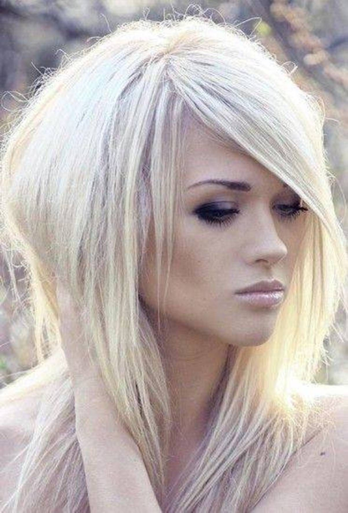 Featured Photo of Platinum Tresses Blonde Hairstyles With Shaggy Cut
