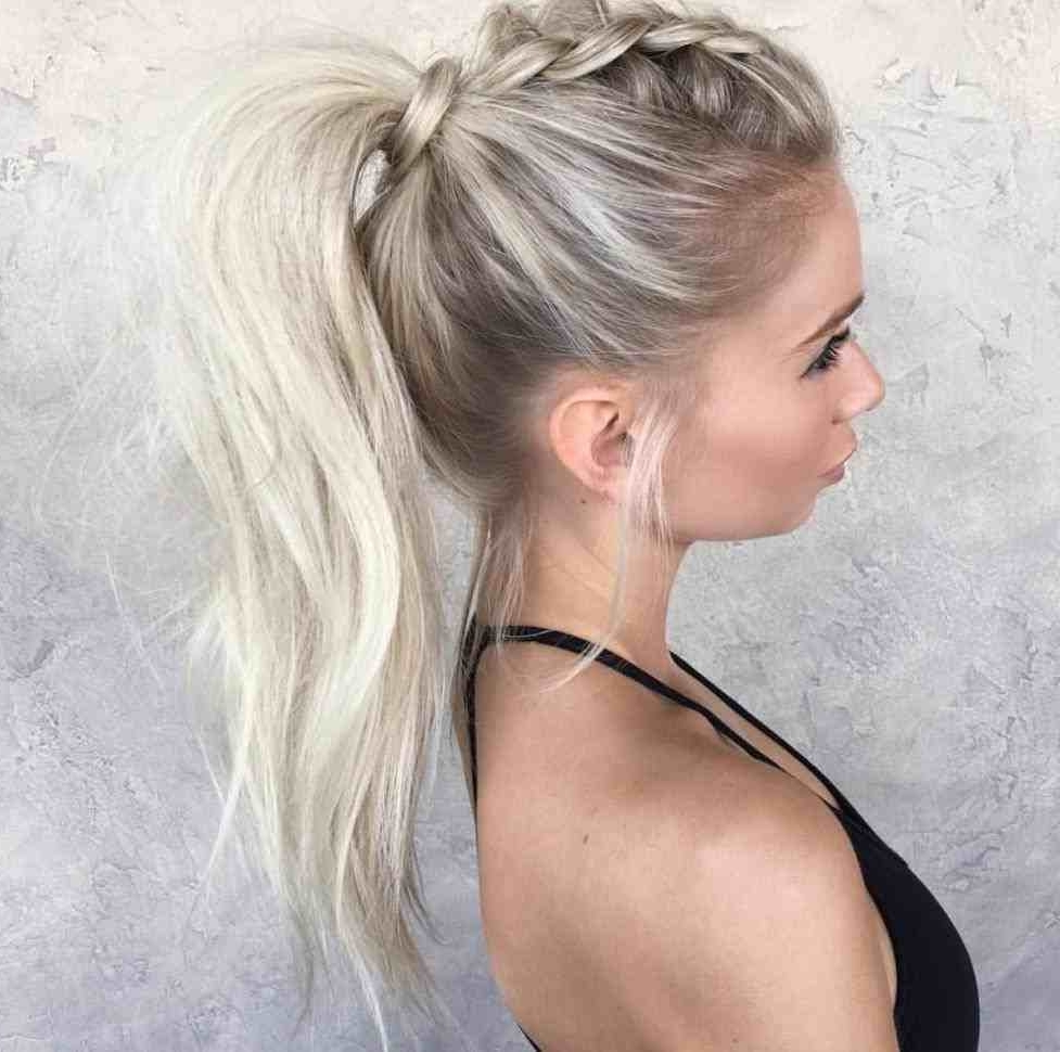 Newest Punky Ponytail Hairstyles With Ponytails Hairstyles Punk (View 14 of 20)