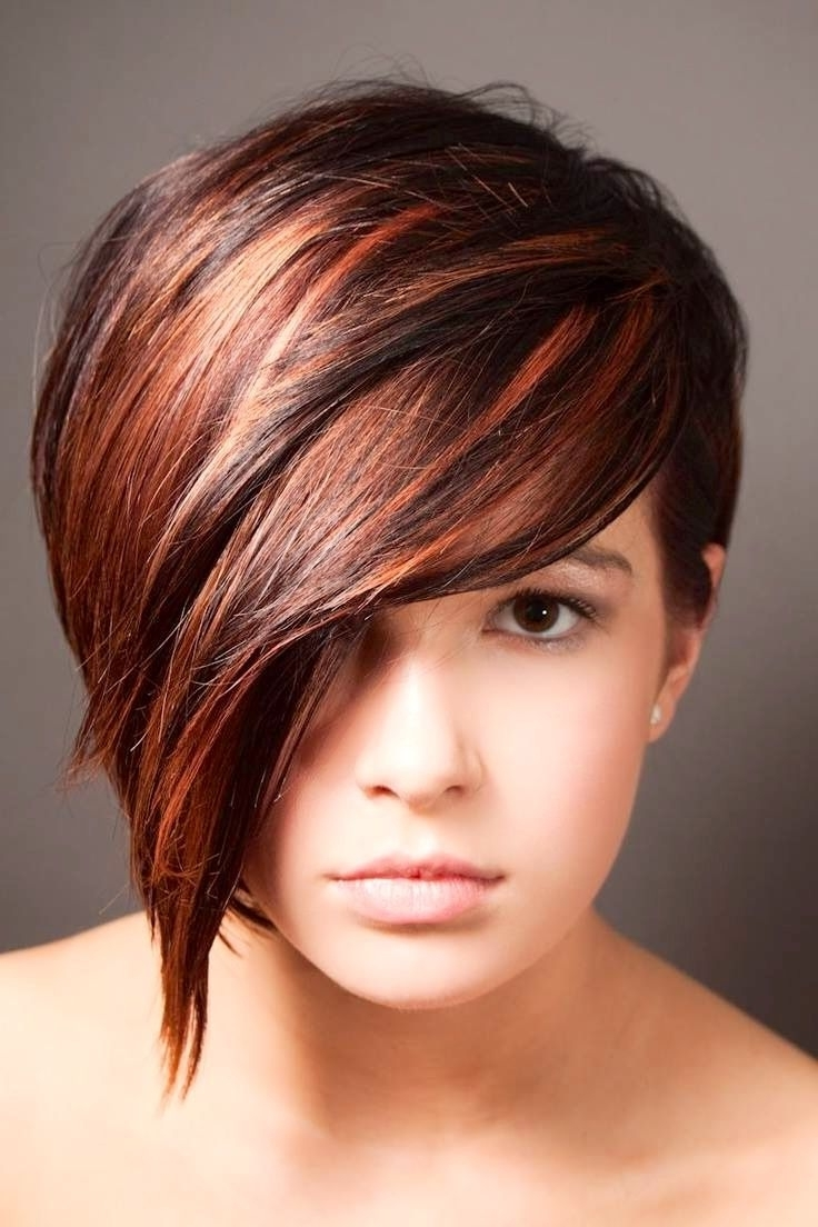 Newest Reddish Brown Layered Pixie Bob Hairstyles Inside 11 Chic Haircuts For Women With Short Hair – W For Woman (View 19 of 20)