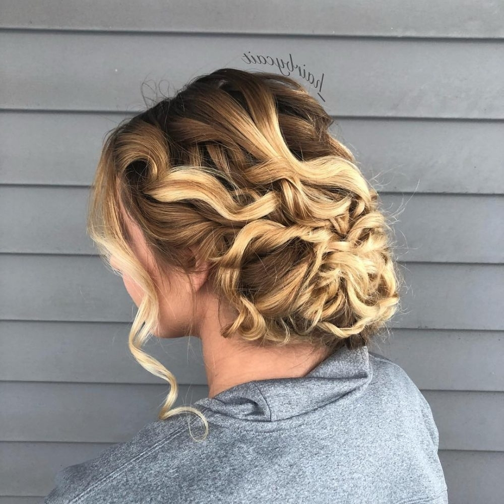 Newest Romantically Messy Ponytail Hairstyles For 33 Breathtaking Loose Updos That Are Trendy For  (View 12 of 20)