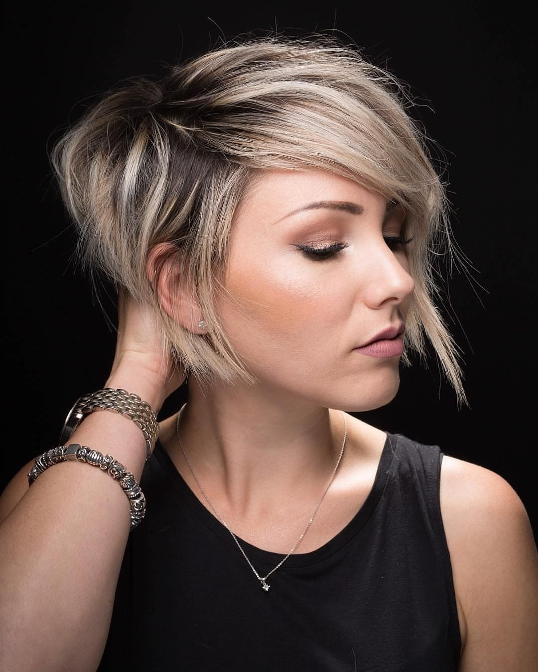Newest Sleek Blonde Hairstyles With Grown Out Roots In Give Yourself A Grown Out Roots Shag Hairstylesaving This Look (View 8 of 20)
