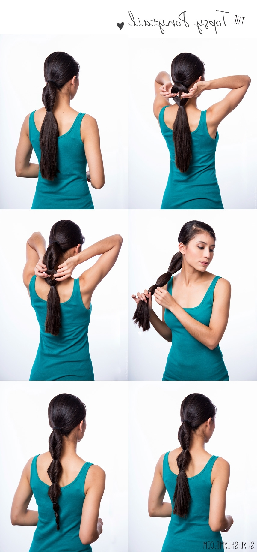 Newest Sleek Bubble Ponytail Hairstyles Pertaining To 3 Easy & Stylish Must Try Ponytail Hairstyles (View 18 of 20)