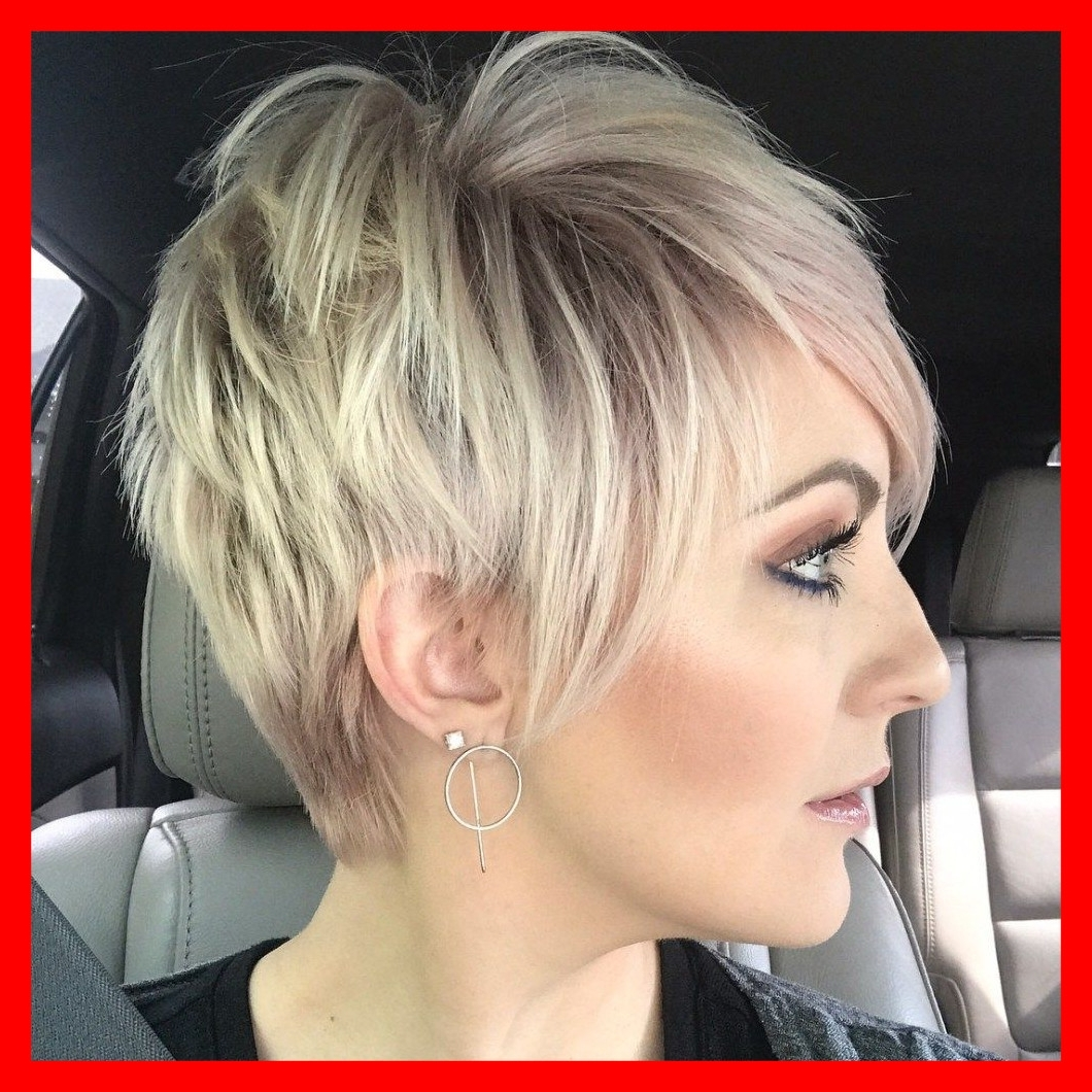 Newest Spiked Blonde Mohawk Hairstyles With The Best Short Shaggy Spiky Edgy Pixie Cuts And Blonde Of Mohawk (View 13 of 20)