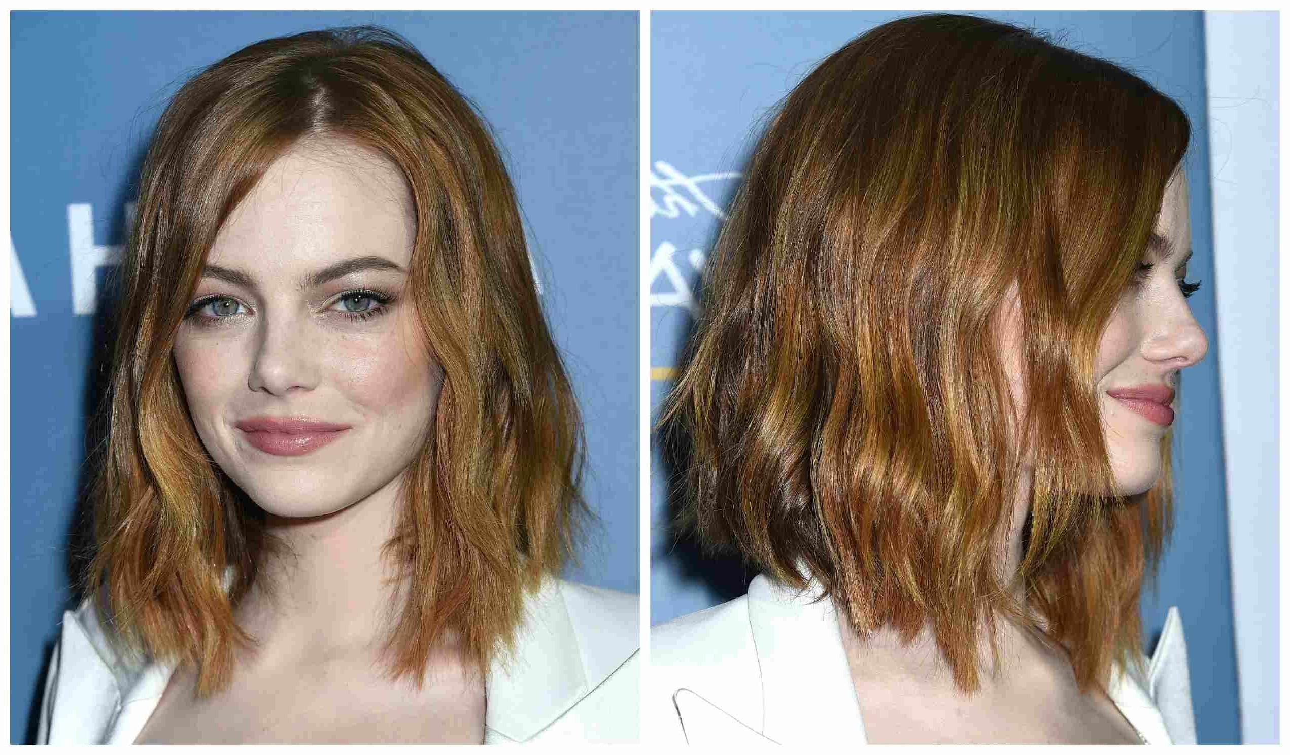 Newest Wavy Caramel Blonde Lob Hairstyles Throughout How To Nail The Medium Length Hair Trend (View 18 of 20)
