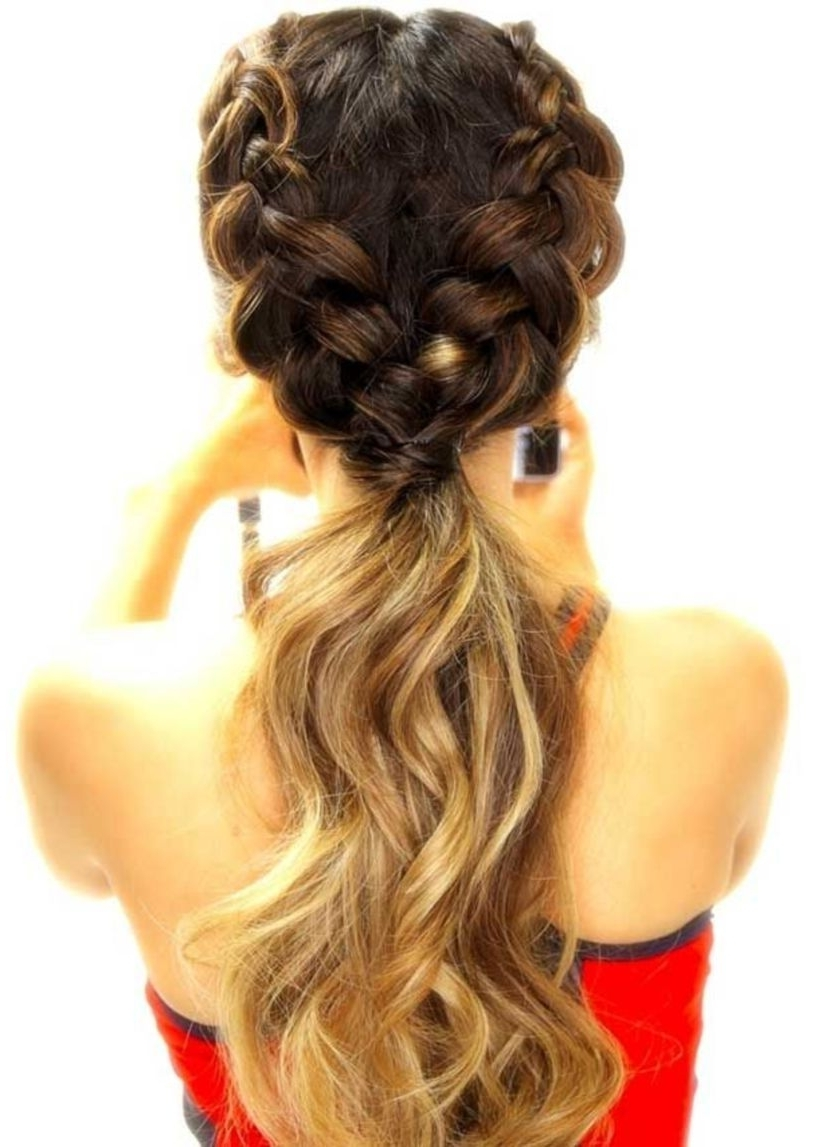 Nice 44 Simple Diy French Braid Ponytail Hairstyles Ideas (View 17 of 20)