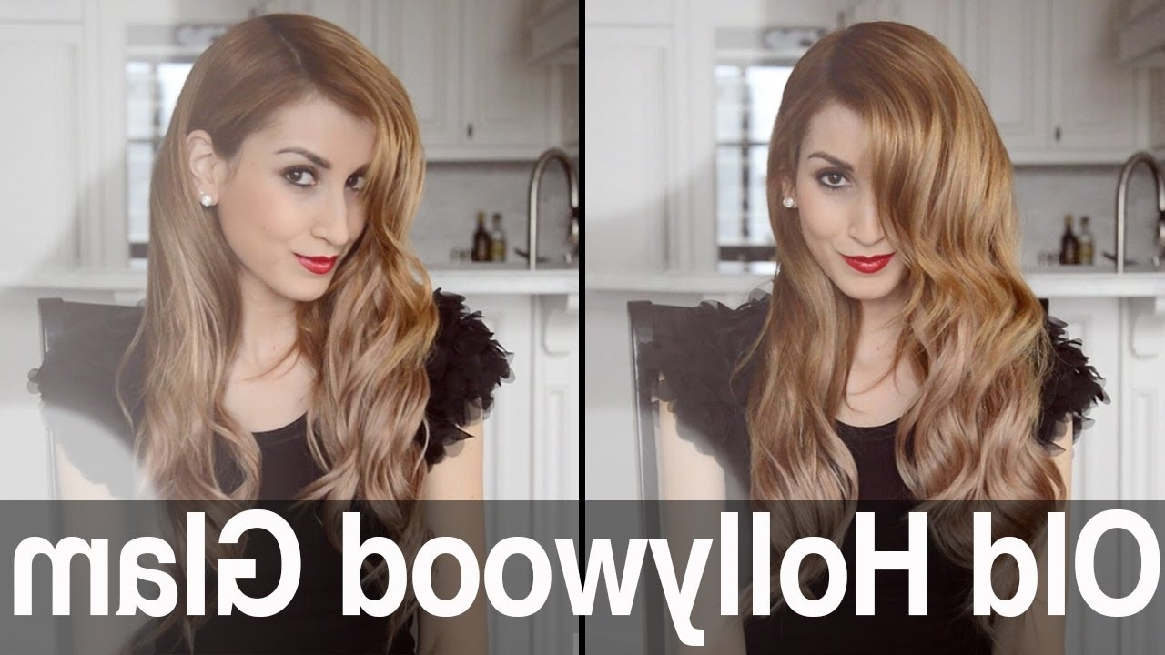 Old Hollywood Glam Waves For Long Or Short Hair (Gallery 6 of 20)
